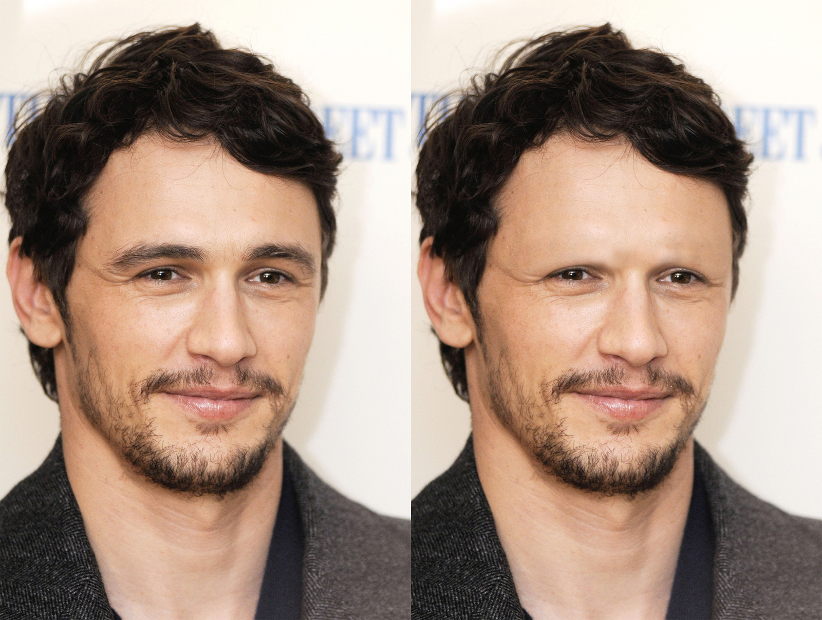 Celebs Without Eyebrows James Franco