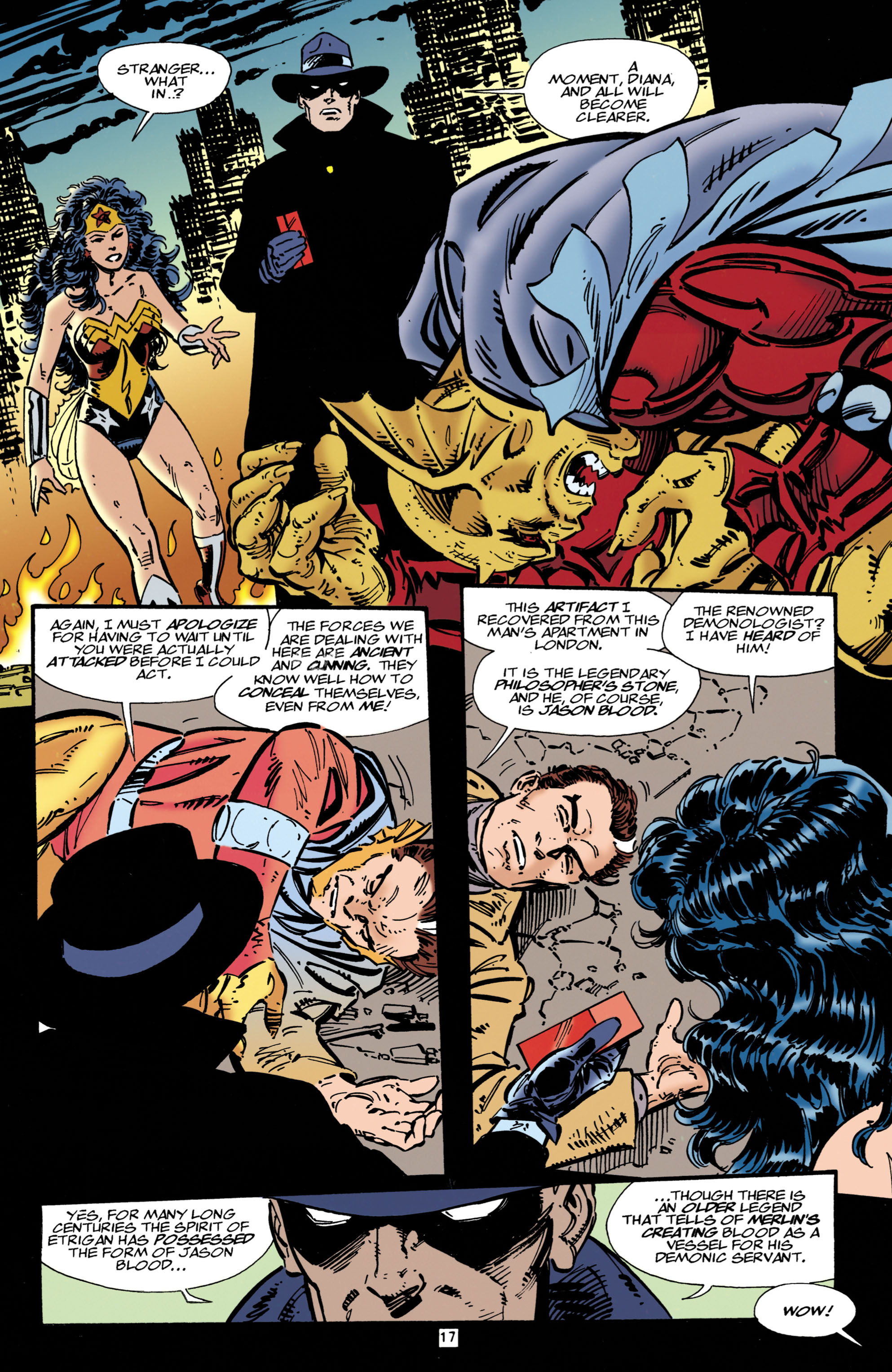 Read online Wonder Woman (1987) comic -  Issue #107 - 17