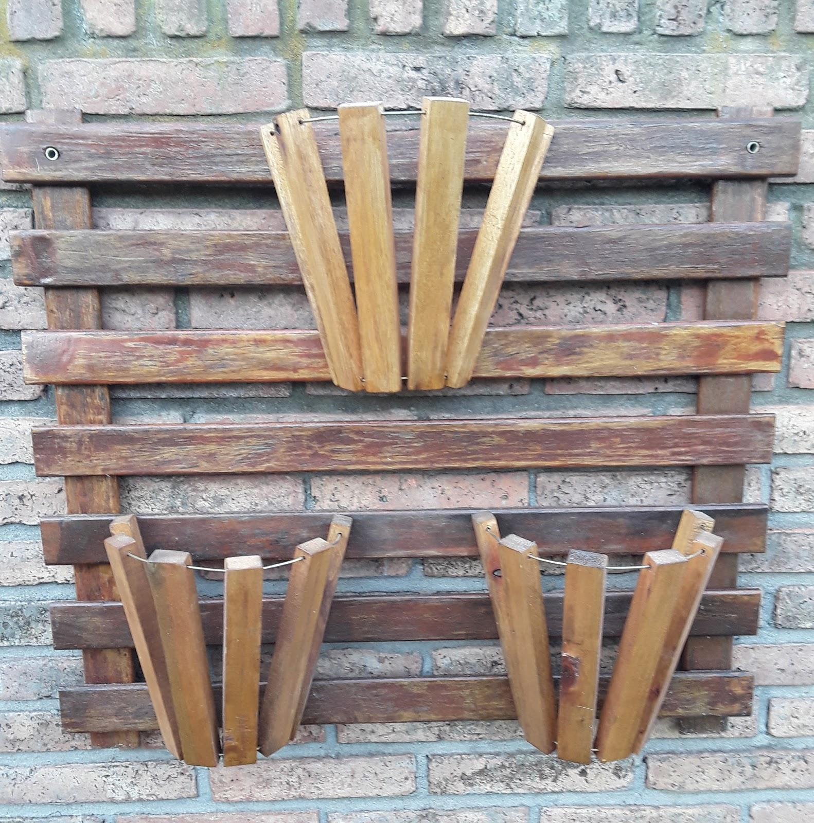 El rinc n de budala maceteros de madera reciclada Maceteros de madera para exterior