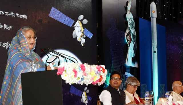 'বঙ্গবন্ধু- ১' স্যাটেলাইটের পূর্ণাঙ্গ যাত্রা শুরু করল বাংলাদেশ