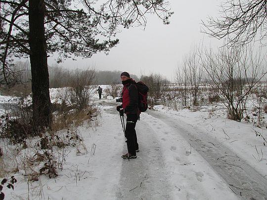 W drodze do Nieznajową.