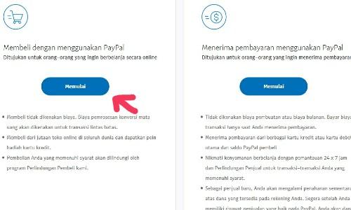 Cara Membuat Akun Paypal Gratis