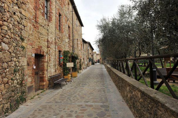 Monteriggioni, Tuscany-Italy