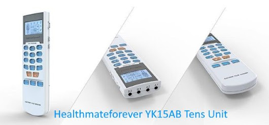 HealthmateForever YK15AB TENS Unit and Muscle Stimulator Review