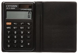 Citizen Pocket Calculator
