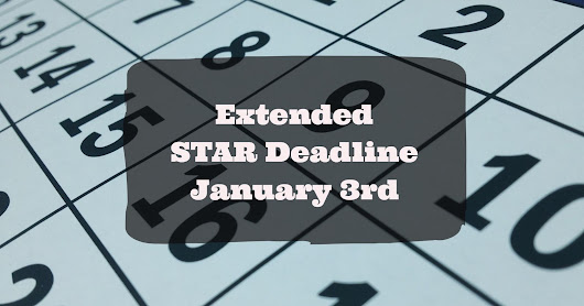 STAR Nassau Deadline To File Extended | To Jan 3rd