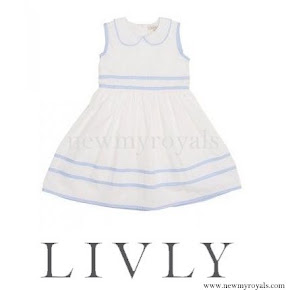 Princess Estelle wore LIVLY Dress
