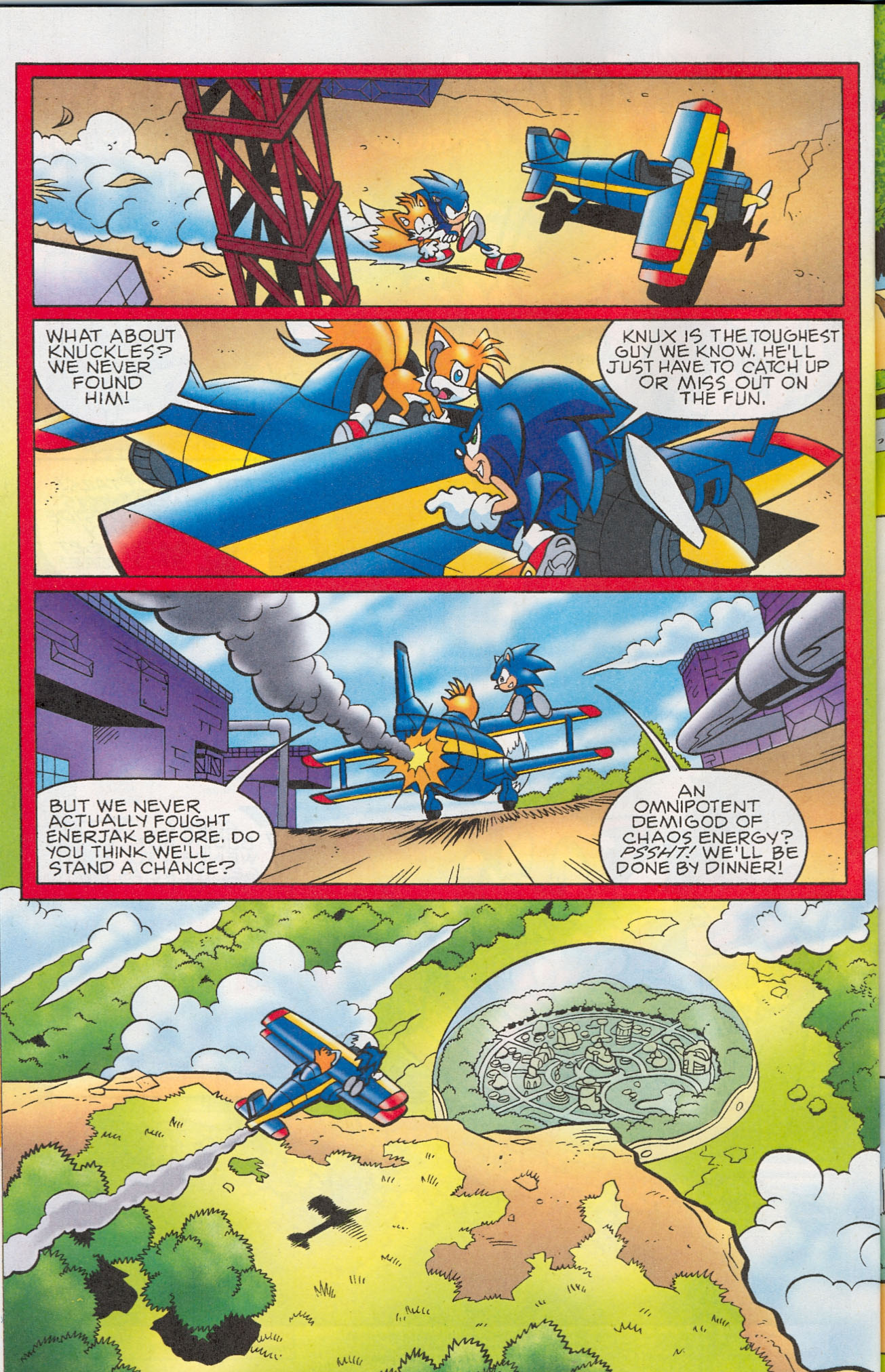 Read online Sonic The Hedgehog comic -  Issue #181 - 15