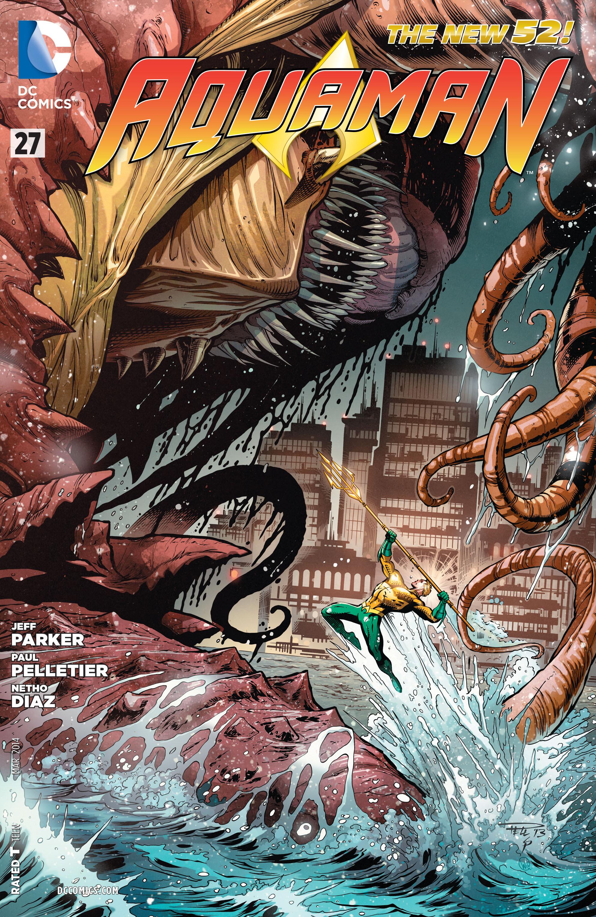 Read online Aquaman (2011) comic -  Issue #27 - 1