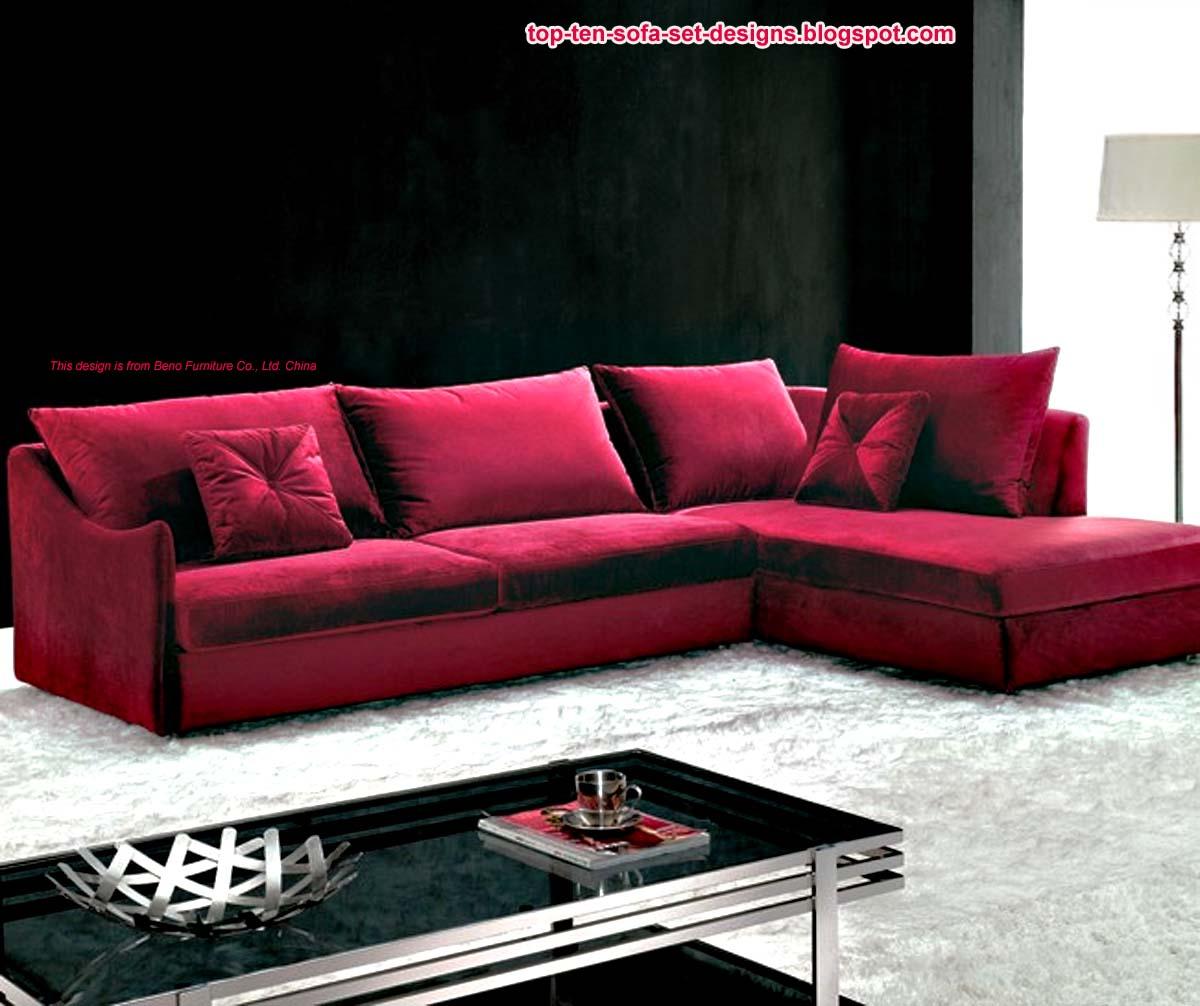 Top 10 Sofa Set Designs: Top Ten Sofa Set Designs From China