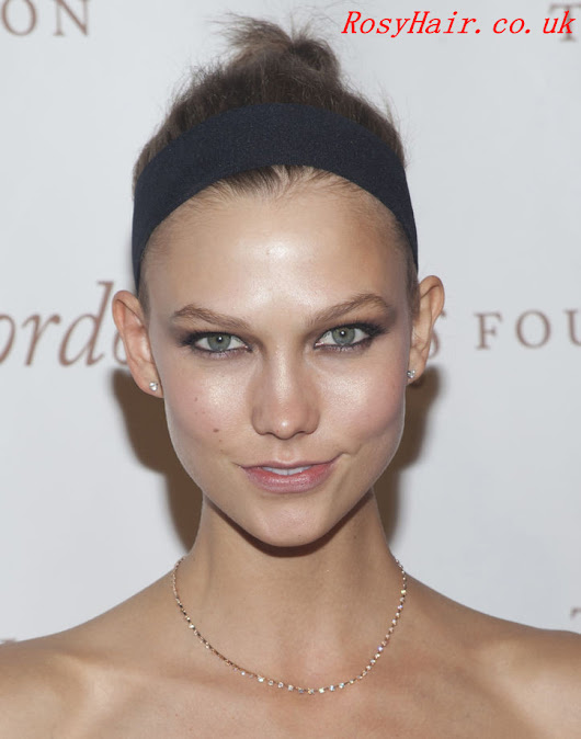 Love Karlie Kloss's Hair Accessory