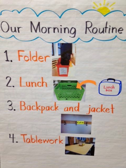 Morning Routines Activities and Ideas- organization and management tips for classroom morning routines