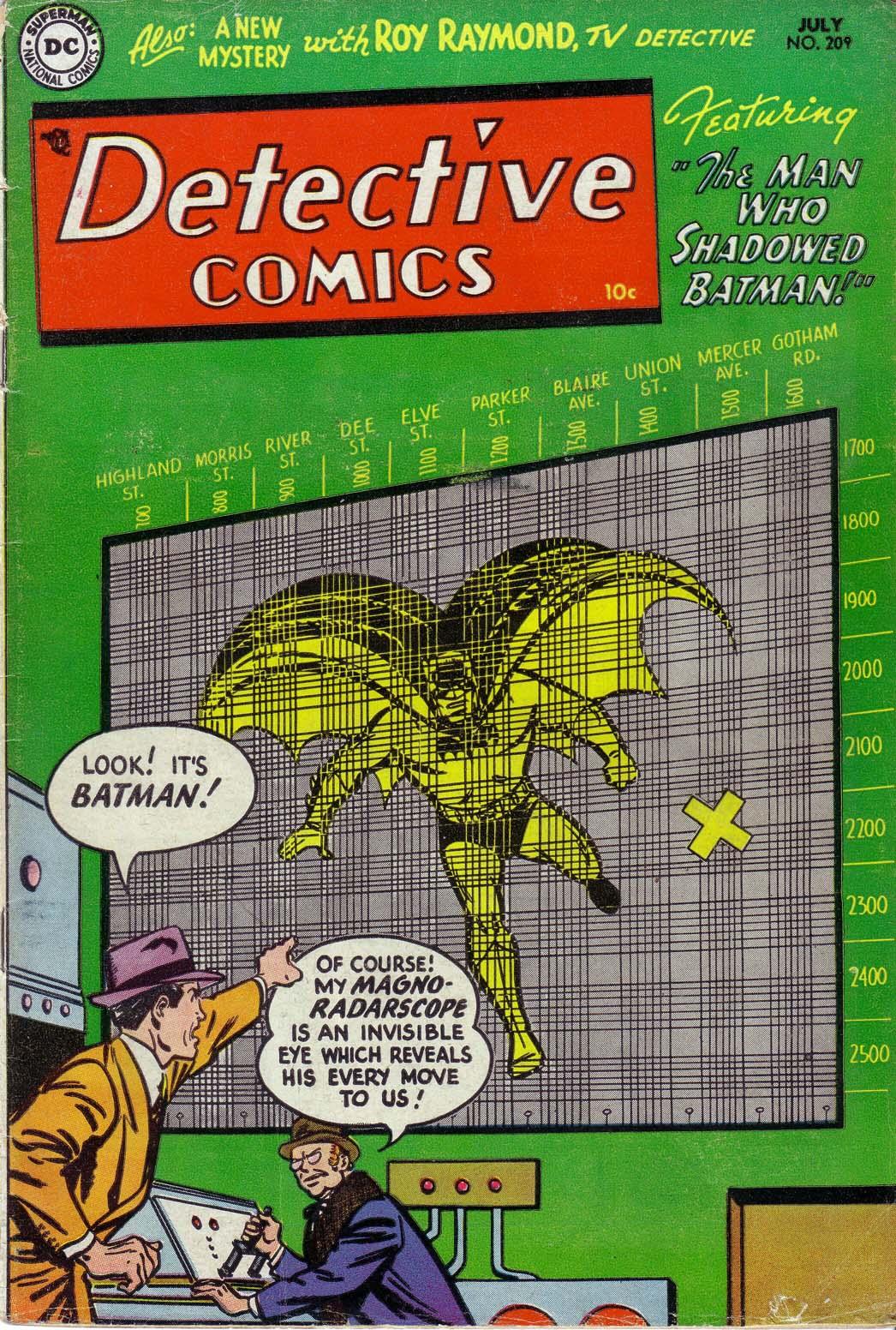Detective Comics (1937) 209 Page 1