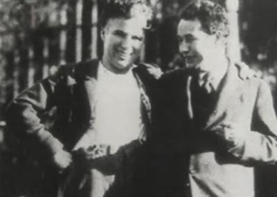 Чарли Чаплин и Эгон Эрвин Киш