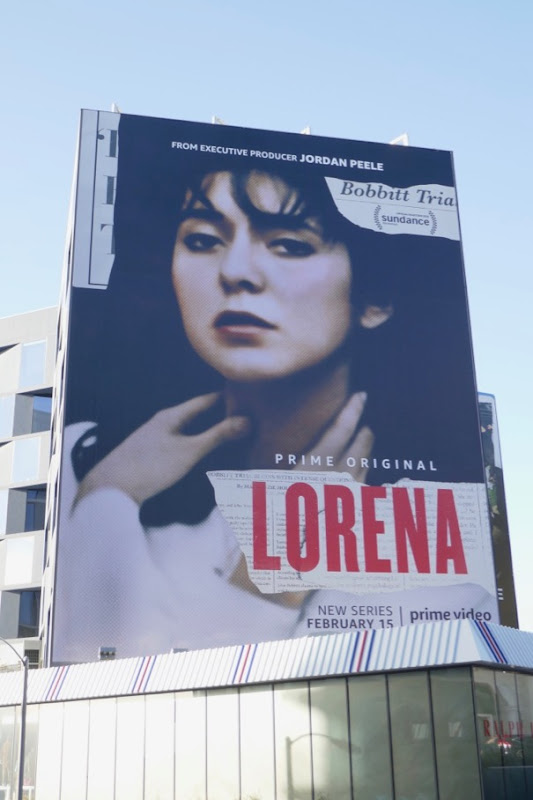 Giant Lorena series premiere billboard