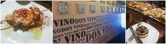 Pinchos en Don VIno de Santoña