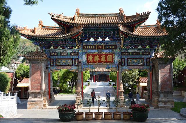 Porche du temple