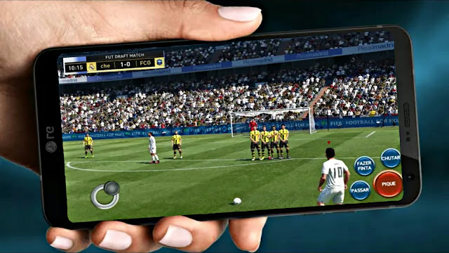 FIFA 14 MOD FIFA 19 Update Best Graphics Android Real Faces