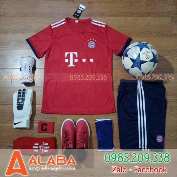 Áo CLB Bayern 2019 sân nhà màu đỏ đẹp