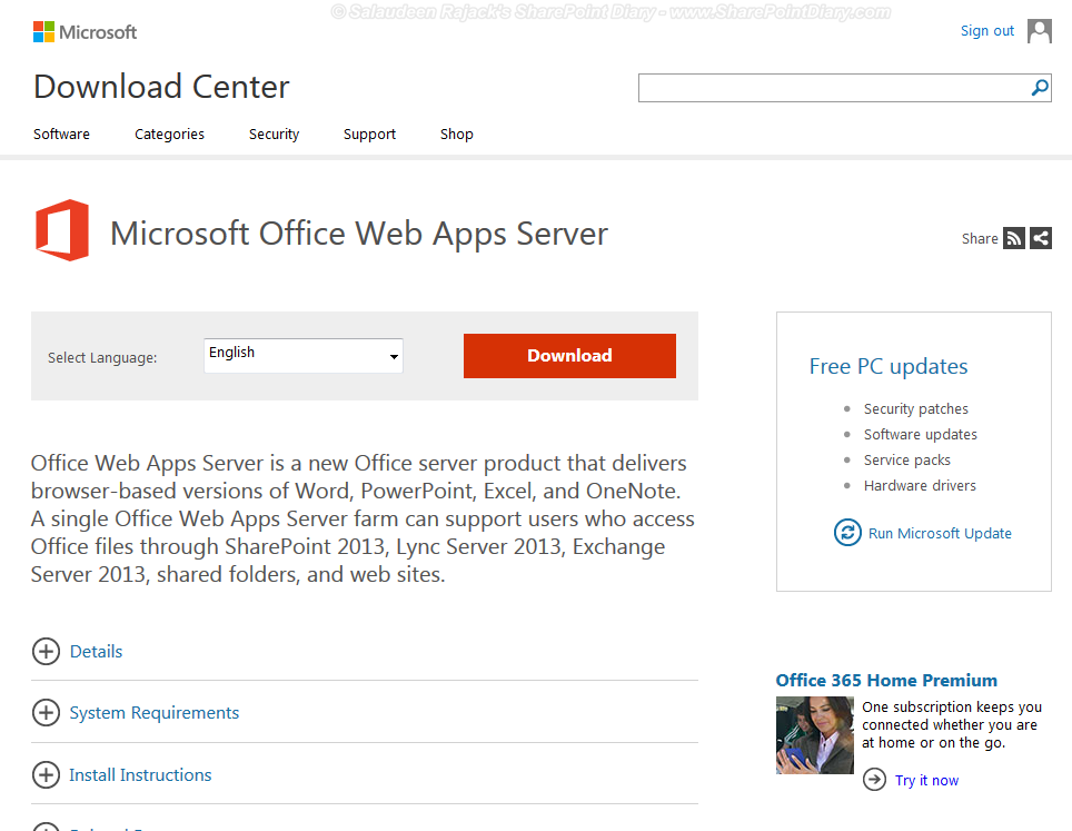 sharepoint 2013 office web apps download