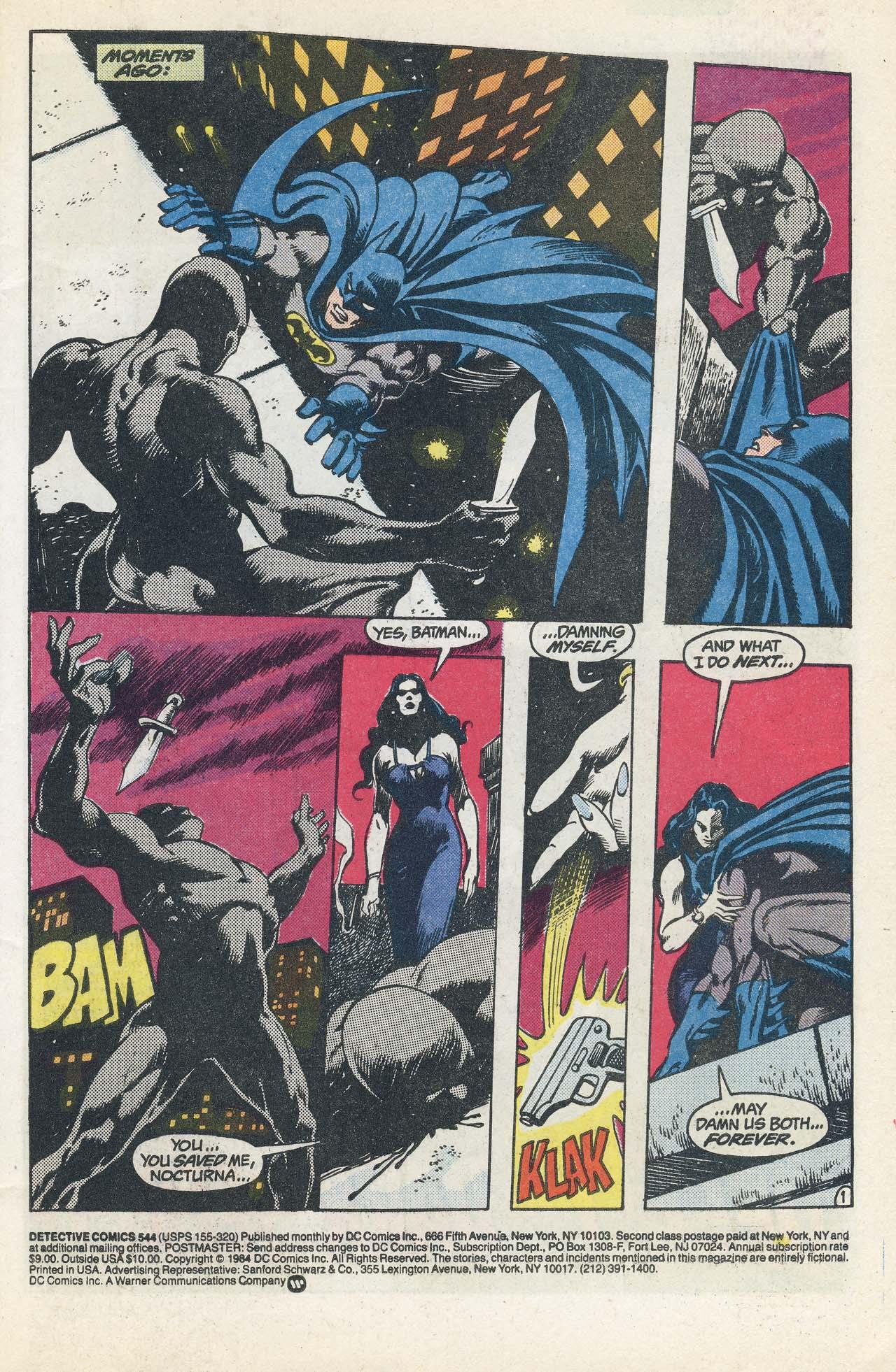 Detective Comics (1937) 544 Page 2
