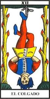 El Colgado- Arcano XII- Tarot de Marsella