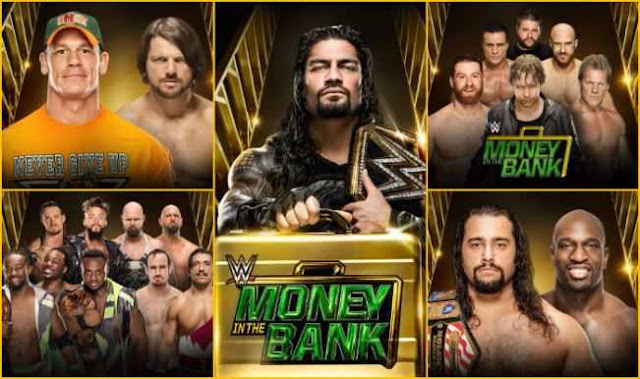 When Is WWE Money Bank 2016, Money Bank Date, Money Bank Schedule, Money Bank Time, Money Bank Matches