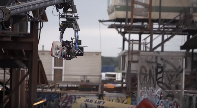 click to see more ready player one behind the scenes with steven Spielberg