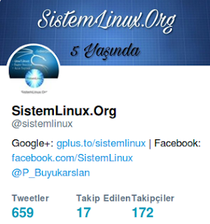 SistemLinux Twitter