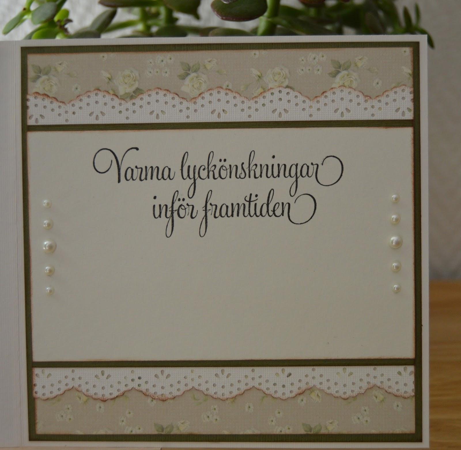 bröllopskort grattis text KortMilla: Bröllopskort! bröllopskort grattis text