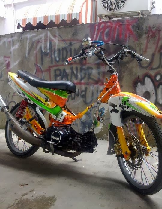 ide modifikasi motor fiz r drag