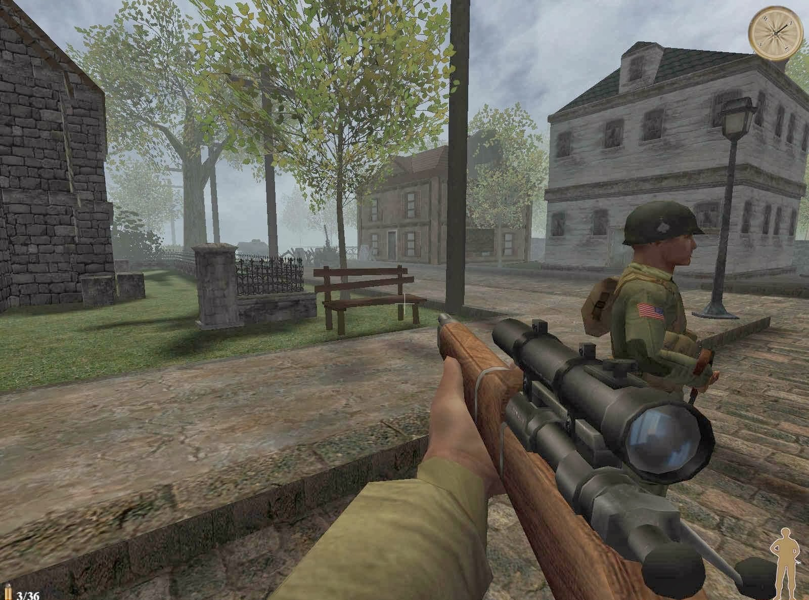 World War Ii Sniper Call To Victory Game