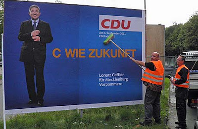 Lustige Wahlplakate der CDU