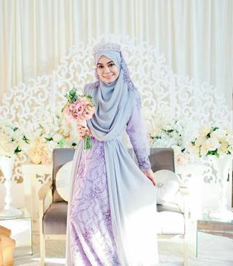 Tips Memilih Gaun Pesta Pernikahan Muslimah