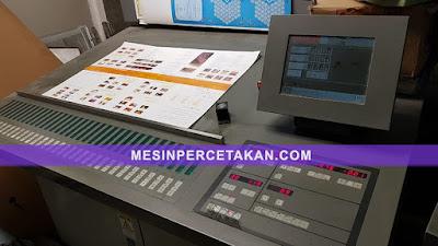 Komori L440 Control Panel