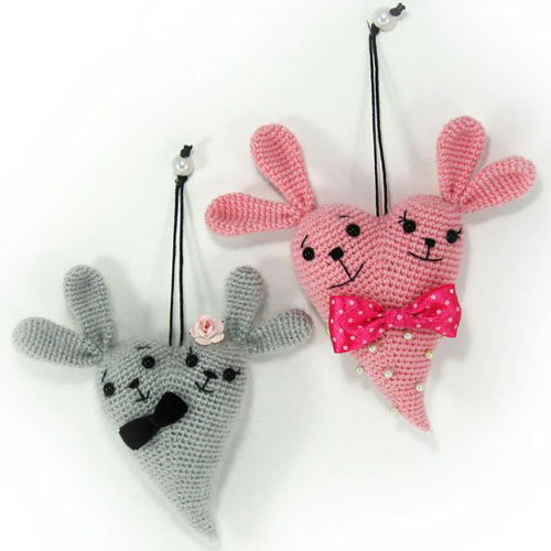 Crochet For Children: Bunny Heart - Free Amigurumi Pattern