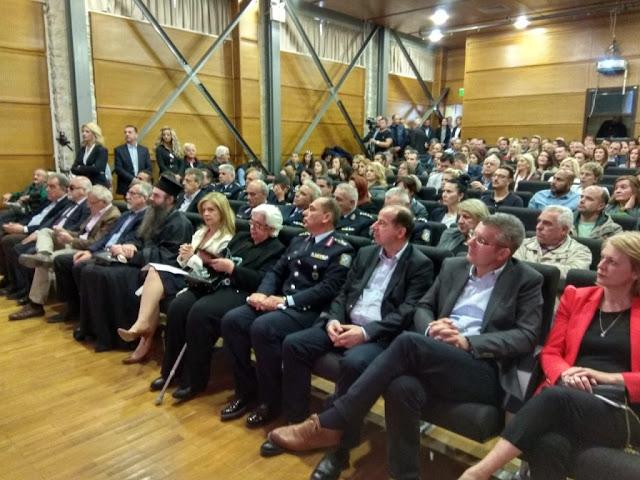 Θεσπρωτία: Ο αστυνομικός διευθυντής Θεσπρωτίας Φ. Ντίνης σε ημερίδα για την αναπηρία