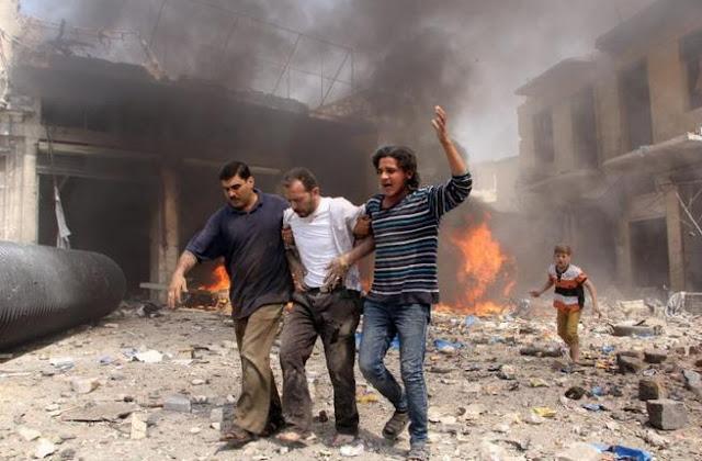 Pesawat Rezim Syiah Nushairiyah Luncurkan Serangan Bom Vakum di Idlib
