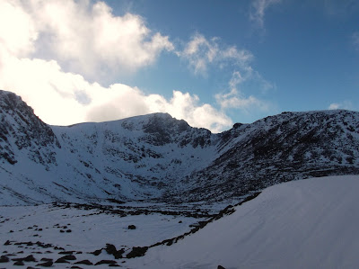 Cairngorms winter climbing