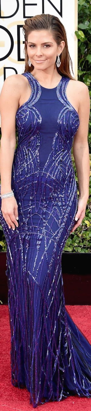 Maria Menounos 2015 Golden Globe Awards