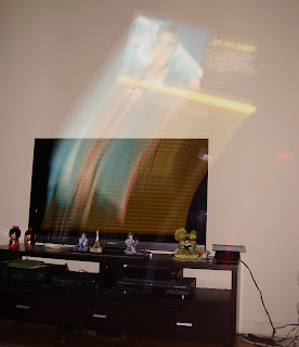 levitation of TV image