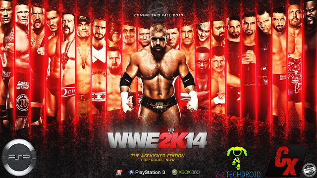 Download game PSP WWE 2K14 ISO