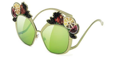 Foto di Occhiali da Sole Dolce & Gabbana Stile Tropicale