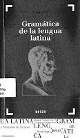 Valentí Fiol, Gramática de la lengua latina