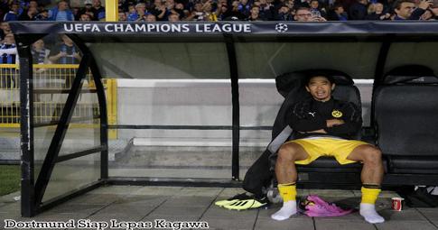Dortmund Siap Lepas Kagawa