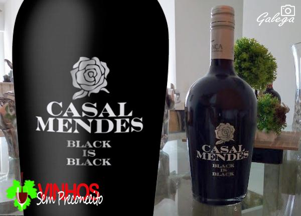 Vinhos Sem Preconceito - Vinho Verde CASAL MENDES BLACK IS BLACK