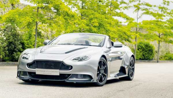 2016 Aston Martin Unveild Custome-Made GT12 Roadstar