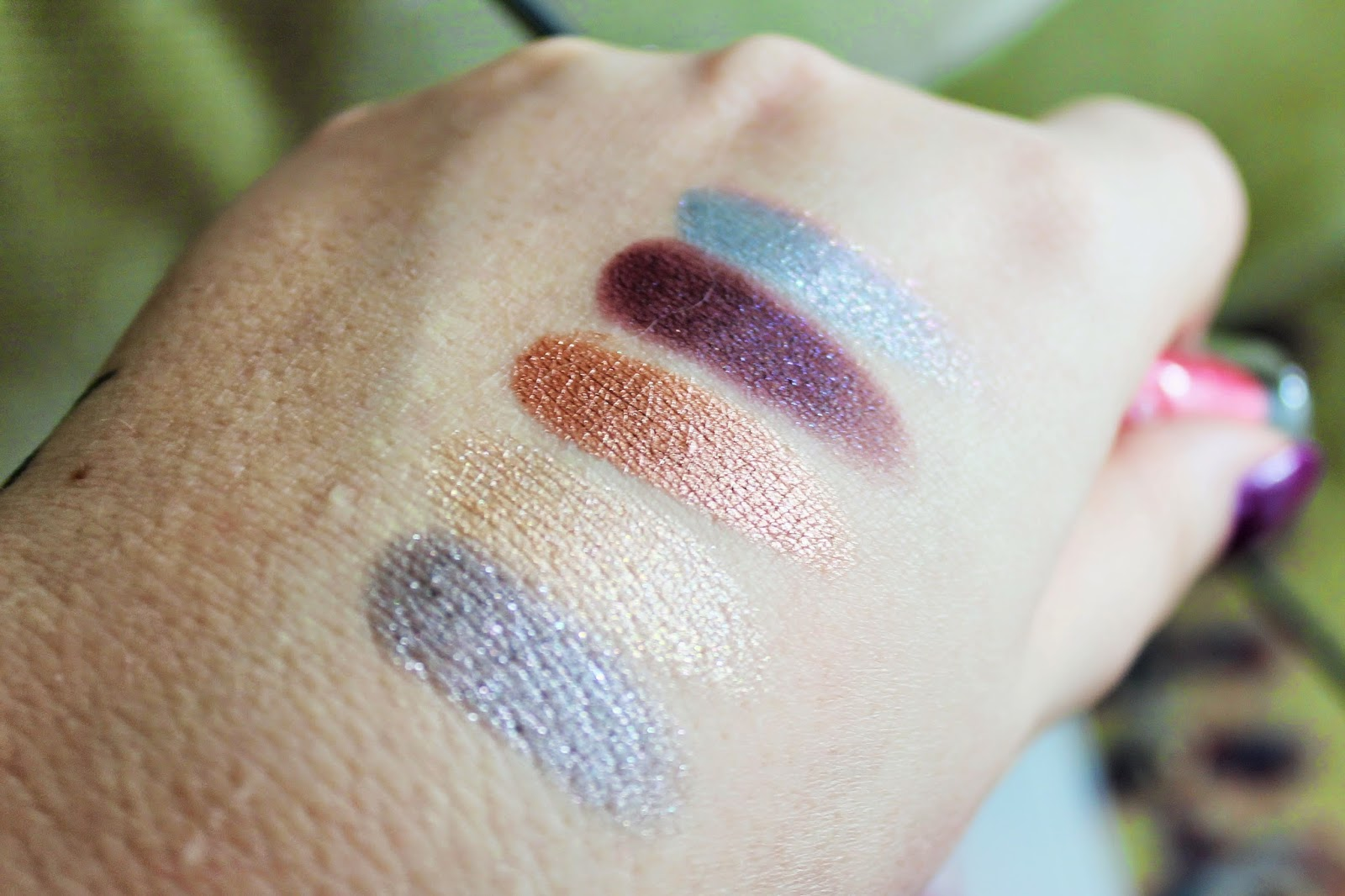 Colourpop Eyeshadow Swatches