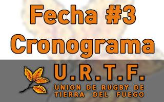[URTF] Horarios y Jueces: 1ra División - Fecha #3