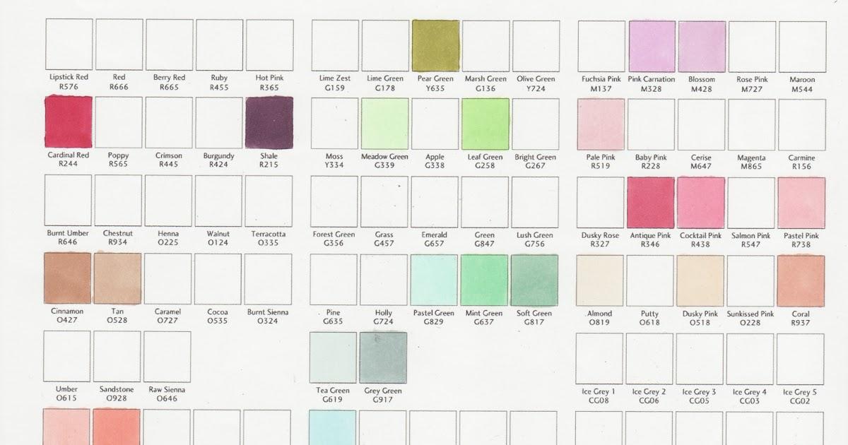 Stickles Glitter Glue Color Chart